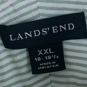 Lands' End Shirts - LAND'S END, no iron, Men's Oxford
